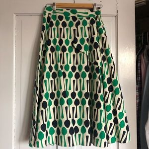 NWT! Never worn spoon skirt Anthropologie